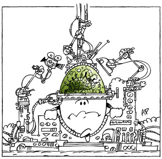 cerveau humain image