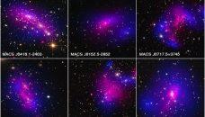 La matière noire dévoilée dans les collisions d'amas de galaxies