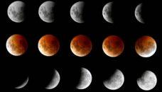 Qui a vu la Lune toute rouge ?