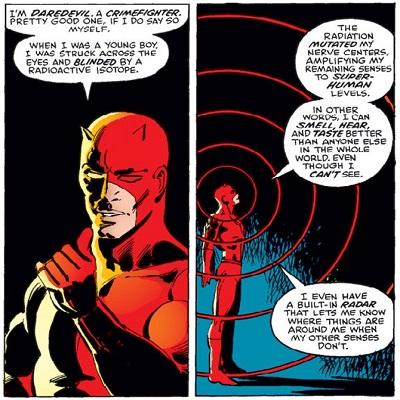 Certains aveugles utilisent l'écholocalisation, un peu comme Daredevil !