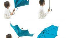 Deux concepts de parapluie inversé