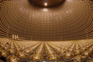 Le détecteur de Kamioka : un des extraordinaires outils utilisés pour l'étude des particules