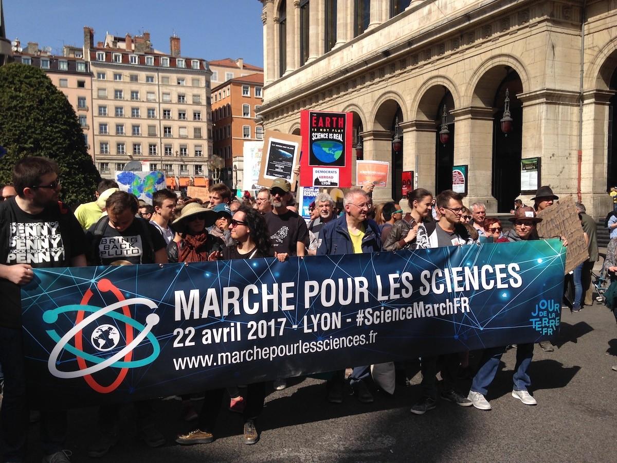 Marche pour les sciences à Lyon - 24 avril 2017